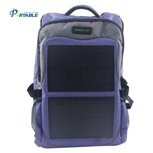 12W Monocrystalline Solar Backpack (Blue)