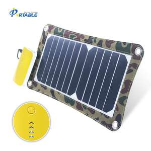 6.5W SUNPOWER Camouflage Solar Folding Bag
