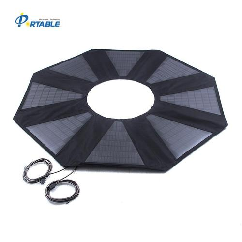 40W Foldable Solar Umbrella