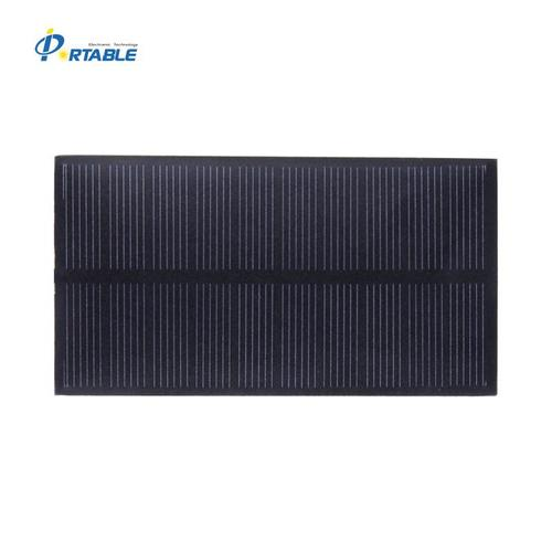 1W Monocrystalline PET Solar Panel
