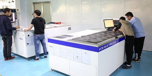 Product test room