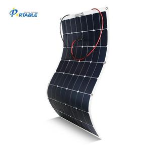 100W SUNPOWER solar flexible board