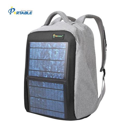 14W Monocrystalline Solar Backpack